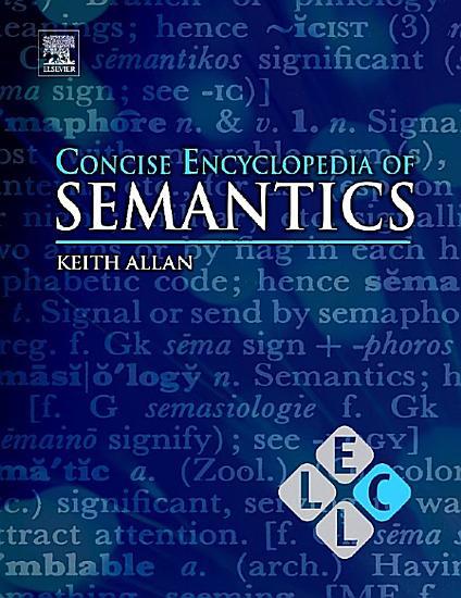 Concise Encyclopedia of Semantics PDF