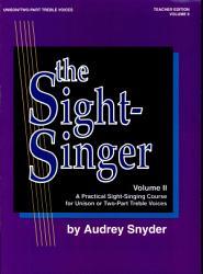 The Sight Singer Book PDF