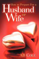 How to Prepare for a Husband Or Wife PDF