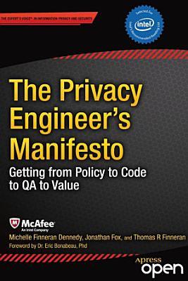 The Privacy Engineer's Manifesto