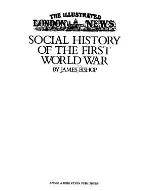 The Illustrated London News Social History of the First World War PDF