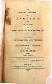 The Constitution of England