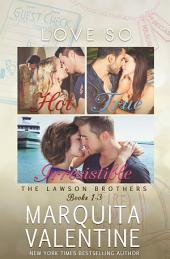 The Lawson Brothers Series Bundle: Books 1-3