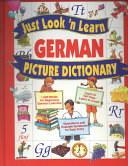 Just Look  n Learn German Picture Dictionary