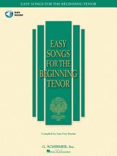 Easy Songs for the Beginning Tenor (Songbook)