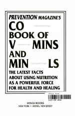 Prevention Magazine's Complete Book of Vitamins and Minerals