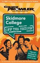 Skidmore College NY 2007