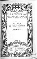 Vicomte de Bragelonne ; Romances of the regency