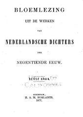 Bloemlezing uit de werken van nederlandsche dichters der negentiende eeuw