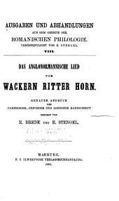 Die Ältesten französischen Sprachdenkmäler: Genauer abdruck, Bibliographie und vollständiges Glossar. 1888-1901
