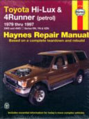 Toyota Hi-Lux & 4Runner Automotive Repair Manual