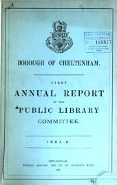 Annual Report of the Public Library Committee: Volumes 1-28