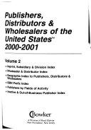 Publishers  Distributors    Wholesalers of the United States PDF