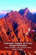 Colorado's Sangre de Cristo Range Mountains