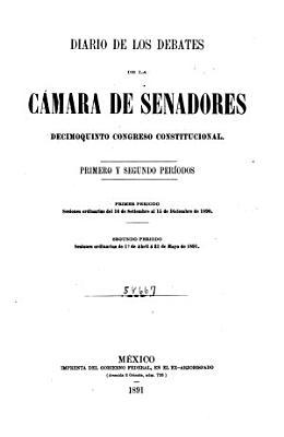 Diario de los debates de la C  mara de Senadores PDF