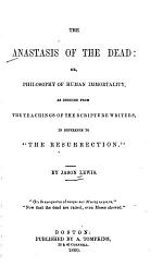 The Anastasis of the Dead
