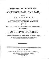 Descriptio numorum Antiochiae, Syriae, s. specimen artis criticae numariae