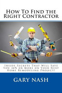 How To Find The Right Contractor For Your Project