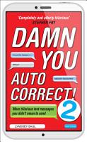 Damn You Autocorrect  2 PDF