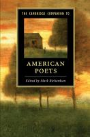 The Cambridge Companion to American Poets PDF