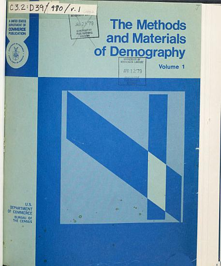The Methods and Materials of Demography PDF