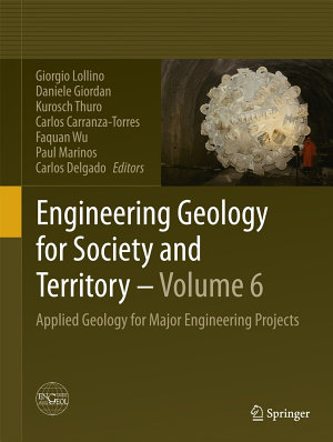 Engineering Geology for Society and Territory   Volume 6 PDF