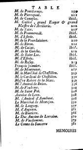 Mémoires: Volume1