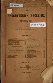 The Presbyterian Magazine: Volume 10, Issue 1