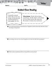 Poppleton in Winter Close Reading and Text-Dependent Questions