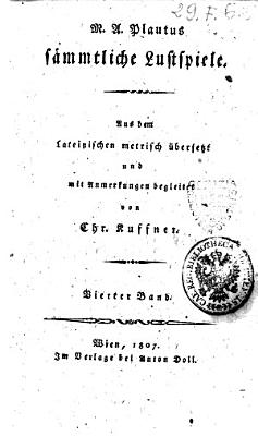S  mmtliche Lustspiele PDF