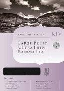 King James Version Ultrathin Reference Bible