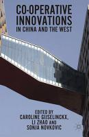 Co operative Innovations in China and the West PDF