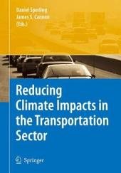 Reducing Climate Impacts in the Transportation Sector