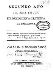 Segundo año del Real Estudio de Medicina Clínica de Barcelona