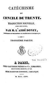 Catéchisme du Concile de Trente: Volume3