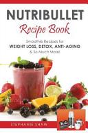 Nutribullet Recipe Book PDF