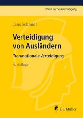 Verteidigung von Ausländern: Transnationale Verteidigung, Ausgabe 4