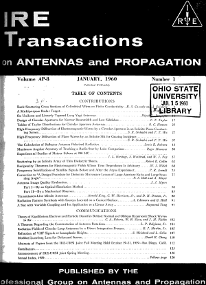 IEEE Transactions on Antennas and Propagation