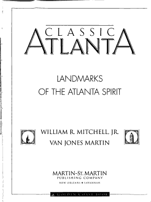 Classic Atlanta PDF