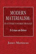 Modern Materialism PDF