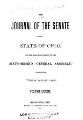 Journal of the Senate of the State of Ohio: Volume 62; Volume 73
