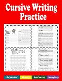 Cursive Writing Practice PDF