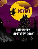 Olivia's Halloween Activity Book