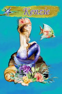 Heavenly Mermaid Kenzie: Wide Ruled Composition Book Diary Lined Journal