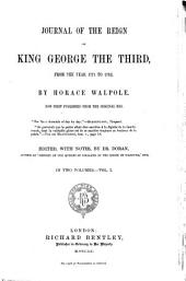 Journal of the Reign of King George the Third: From the Year 1771-1783, Volume 1