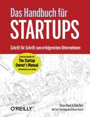 Das Handbuch f  r Startups PDF