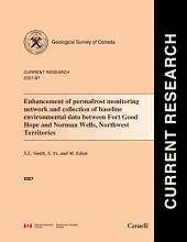 Geological Survey of Canada, Current Research (Online) 2007-B7