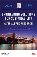 Engineering Solutions for Sustainability PDF