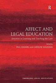 Affect and Legal Education PDF