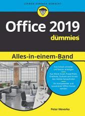 Office 2019 Alles in einem Band f  r Dummies PDF